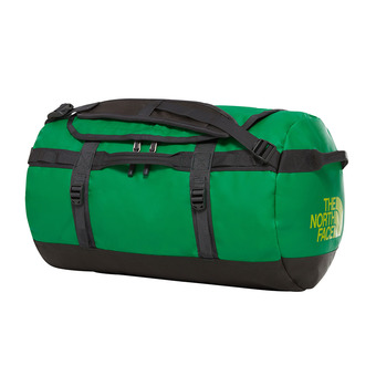 The North Face BASE CAMP 50L - Bolsa de viaje primary green/asphalt gry
