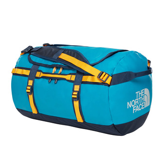 The North Face BASE CAMP 50L - Bolsa de viaje crystal teal/urban navy