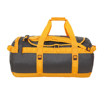Bolsa de viaje 71L BASE CAMP M asphalt gr/zinnia orange