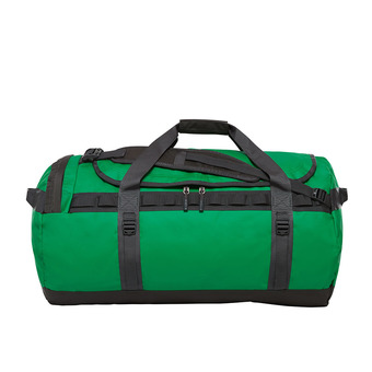 Bolsa de viaje 95L BASE CAMP L primary green/asphalt gry