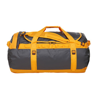 Bolsa de viaje 95L BASE CAMP L asphalt gr/zinnia orange