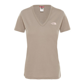 Camiseta mujer SIMPLE DOME silt grey