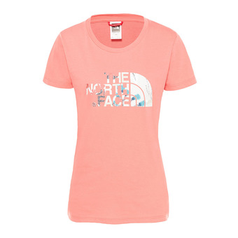 Tee-shirt MC femme EASY spiced coral