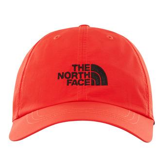 The North Face HORIZON - Gorra fiery red/tnf black