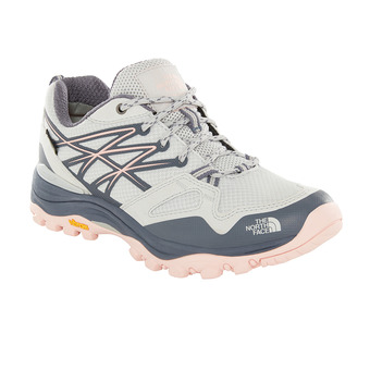 The North Face HEDGEHOG FASTPACK GTX - Hiking Shoes - Women's - meld grey/pink salt