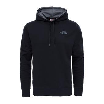 The North Face DREW PEAK PO LT - Sweatshirt - Men's - tnf black