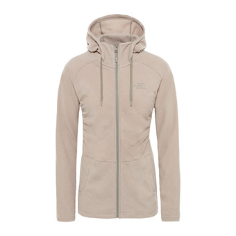 The North Face MEZZALUNA - Fleece - Women's - pink salt stripe