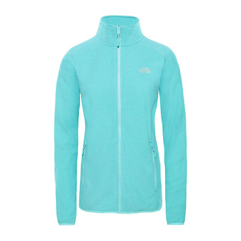 The North Face 100 GLACIER - Fleece - Women's - mint blue stripe