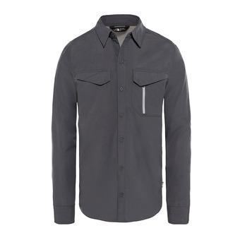 The North Face SEQUOIA - Camisa hombre asphalt grey/mid grey