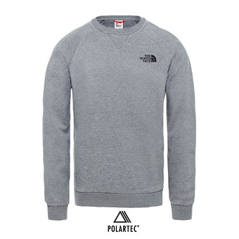 Sudadera hombre SIMPLE DOME tnf medium grey heather
