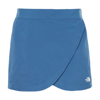 The North Face INLUX - Falda-short mujer blue wing teal
