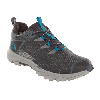 The North Face ULTRA FASTPACK III GTX - Hiking Shoes - Men's - ebony grey/crystal teal