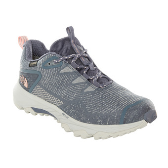 The North Face ULTRA FASTPACK III GTX - Hiking Shoes - Women's - grisaille grey/pink salt