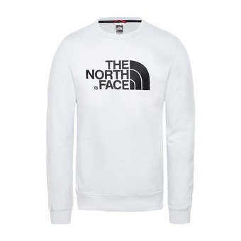 The North Face DREW PEAK LHT - Sudadera hombre tnf white