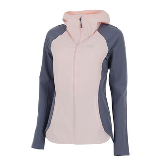 The North Face INVENE - Veste Femme pink salt/grisaille grey