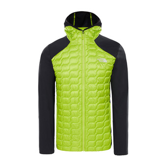The North Face THERMOBALL - Hybrid Jacket - Men's - lime green/tnf black