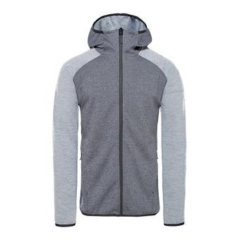 The North Face ONDRAS II - Sweatshirt - Men's - tnfblackhther/midgryhther