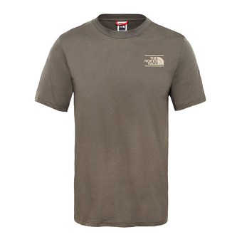 The North Face GRAPHIC - Camiseta hombre new taupe green