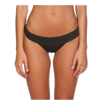 DESIRE BRIEF Femme BLACK-YELLOW STAR