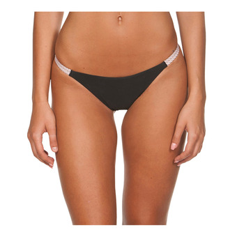 W STRINGS BRIEF Femme BLACK