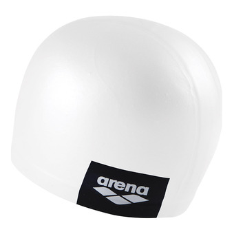 Bonnet de bain LOGO MOULDED white