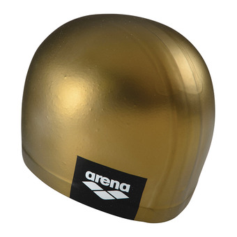 Bonnet de bain LOGO MOULDED gold