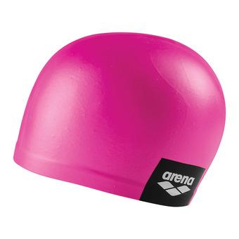 Arena LOGO MOULDED - Gorro de natación pink