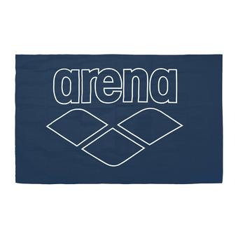 Arena POOL SMART - Asciugamano navy/white