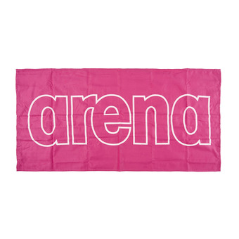 Arena GYM SMART - Toalla fresia pink/white