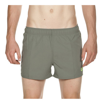 Arena FUNDAMENTALS X-SHORT - Swimming Shorts - Men's - army/shiny green