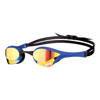 Gafas de natación COBRA ULTRA MIRROR yellow revo/blue