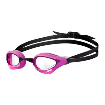 Arena COBRA CORE - Occhialini da nuoto clear pink/black
