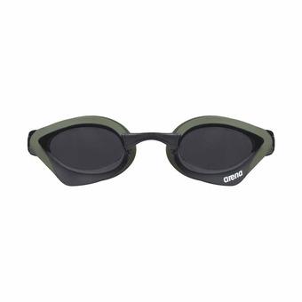 Arena COBRA CORE - Gafas de natación smoke army/black