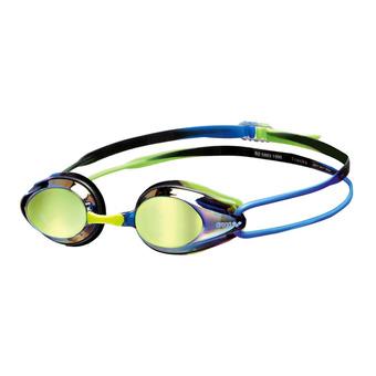 Arena TRACKS MIRROR - Occhialini da nuoto blue/blue/green