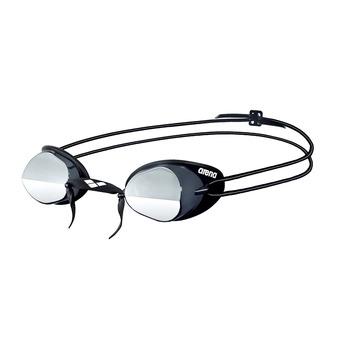 Arena SWEDIX MIRROR - Occhialini da nuoto smoke/silver/black