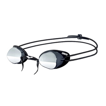 Arena SWEDIX MIRROR - Swimming Goggles - smoke/silver/black