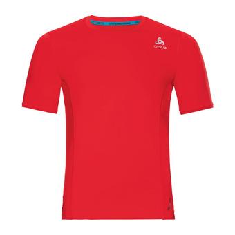 Odlo CERAMICOOL PRO - Camiseta hombre fiery red