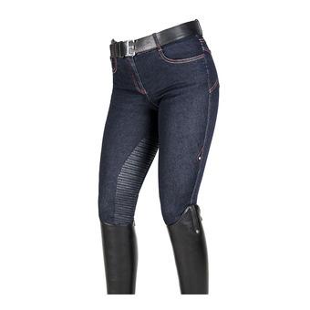 Equiline HEIO - Pantalon 3/4 siliconé Femme denim blue
