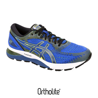 Zapatillas de running hombre GEL-NIMBUS 21 illusion blue/black