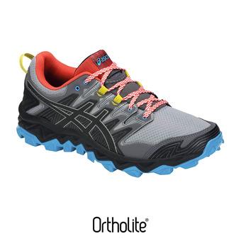 Asics GEL-FUJITRABUCO 7 - Zapatillas de trail hombre stone grey/black