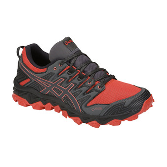 Asics GEL-FUJITRABUCO 7 GTX - Chaussures trail Homme red snapper/dark grey