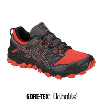 Asics GEL-FUJITRABUCO 7 GTX - Zapatillas de trail hombre red snapper/dark grey