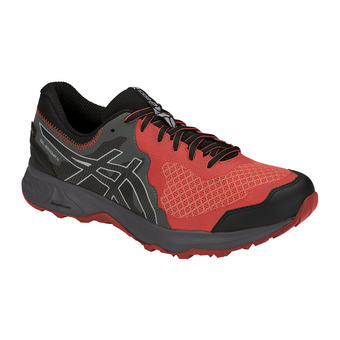Asics GEL-SONOMA 4 GTX - Trail Shoes - Men's - red snapper/black