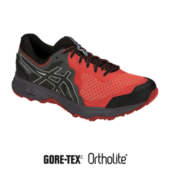 Asics GEL-SONOMA 4 GTX - Chaussures trail Homme red snapper/black