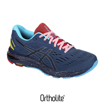 Asics GEL-CUMULUS 20 LE - Zapatillas de running hombre grand shark/peatcoat