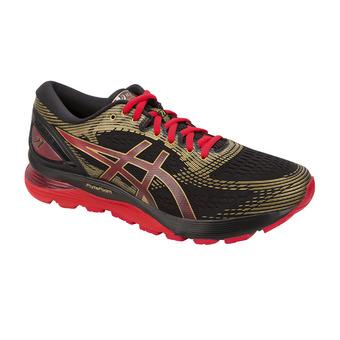 Asics GEL-NIMBUS 21 MUGEN - Running Shoes - Men's - black/classic red