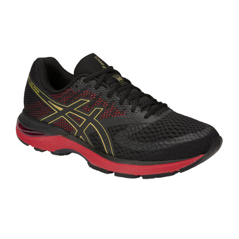 Asics GEL-PULSE 10 MUGEN - Chaussures running Homme black/rich gold