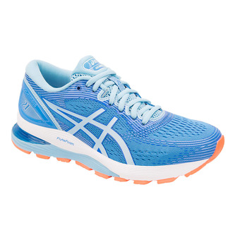 Asics GEL-NIMBUS 21 - Running Shoes - Women's - blue coast/skylight