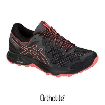 Asics GEL-SONOMA 4 - Trail Shoes - Women's - black/papaya