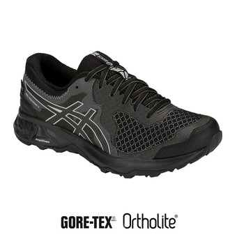 Asics GEL-SONOMA 4 GTX - Trail Shoes - Women's - black/stone grey